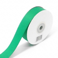 Emerald Green Grosgrain Ribbon 10mm X 25 Meters With Free Pack Of 12 White Tags
